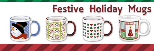 Christmas Holiday Mugs